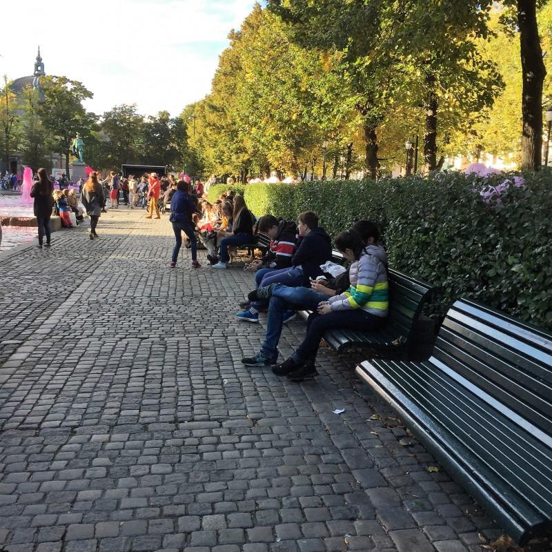 Park og gatemøbler